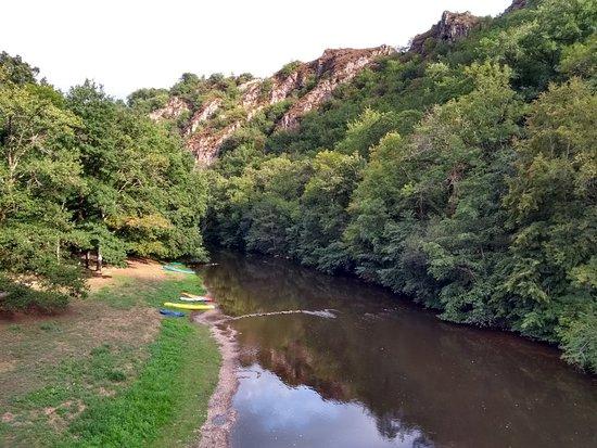 Pampelonne, Francja: Camping de Thuriès
