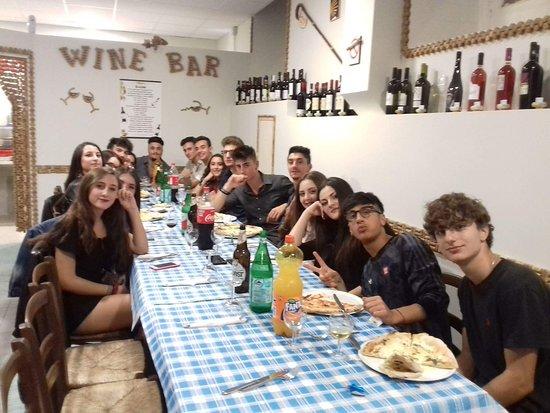 Ferrazzano, Itália: Compleanno 18 anni