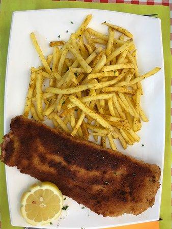 Restaurant Häxehüsli: Cordon Bleu mit Knoblauch