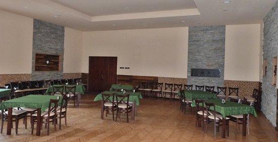 Cesky Tesin, Republik Ceko: Rekonstruovaný sál restaurace Na Brandýse.