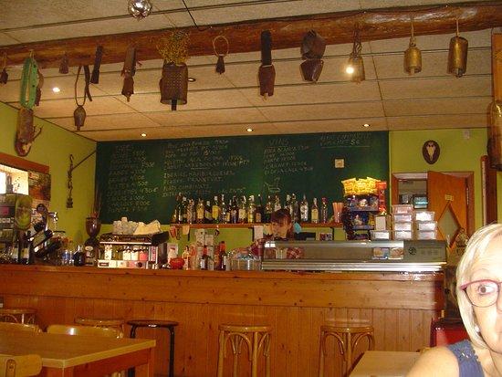 Capafonts, إسبانيا: Barra del comedor