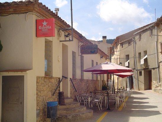 Capafonts, إسبانيا: Terraza del restaurante