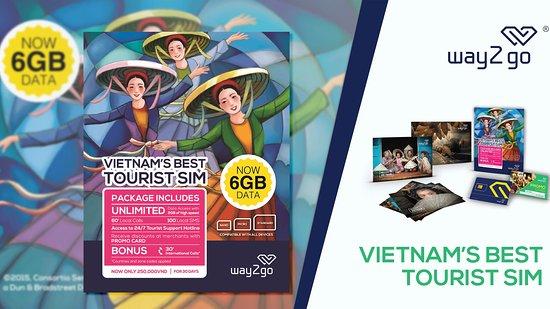 Vietnam Tourist Sim