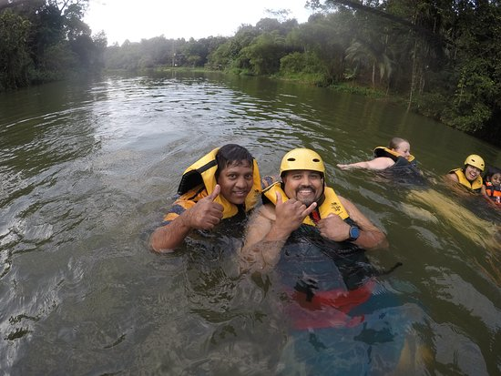 Rafting Team 39: Last Bit of the Journey Enjoying at the Kelani River