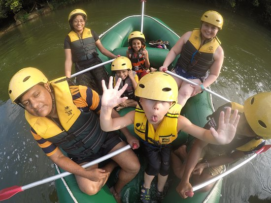 Rafting Team 39: On the Raft with Kids
