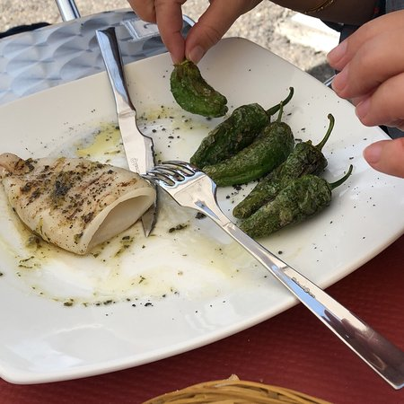 Salardu, Spanje: We stopped on our way up and had their very good €16 menu. A fair price for a good quality menu