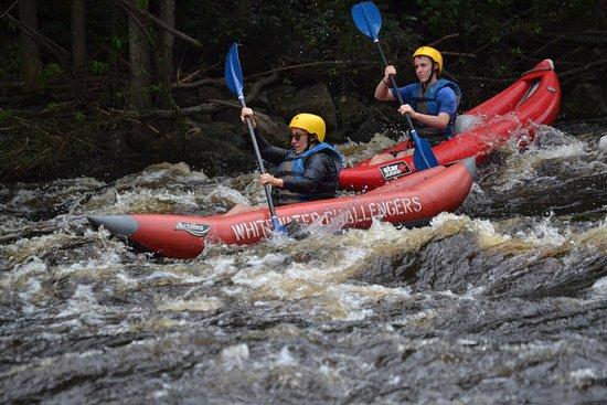 Weatherly, PA: Great mother/son kayaking trip
