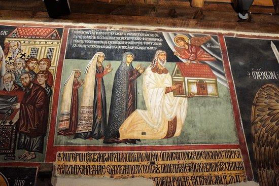 Archangelos Michael Church: Affreschi