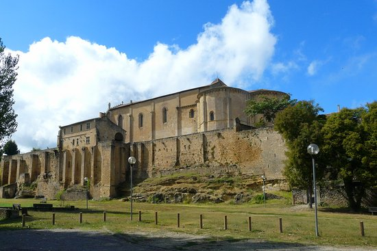 Saint-Macaire, Γαλλία: Eglise et remparts