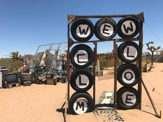 Joshua Tree, CA: Noah Purifoy Entrance