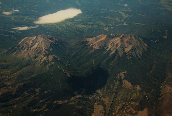 La Veta, CO: Spanish Peaks