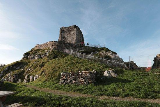 La Roche-Maurice, Prancis: château de La Roche Maurice