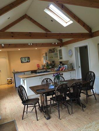 Kippen, UK: Bright, spacious kitchen
