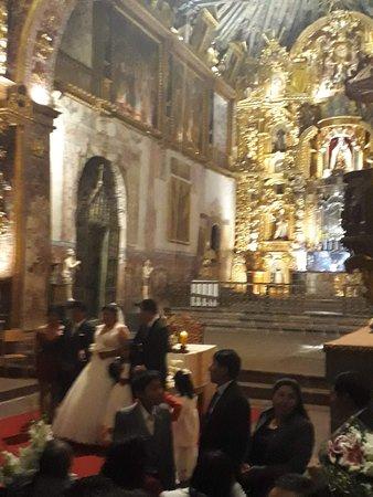 Andahuaylillas, Perù: Il matrimonio