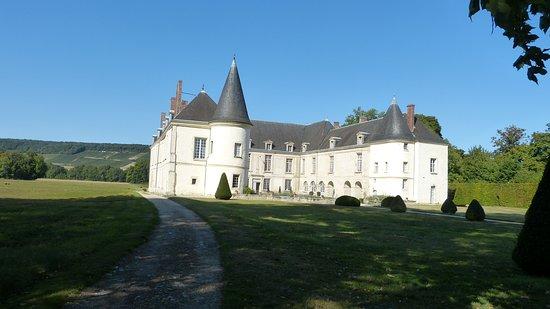 Condé en Brie, France : point de départ de la visite