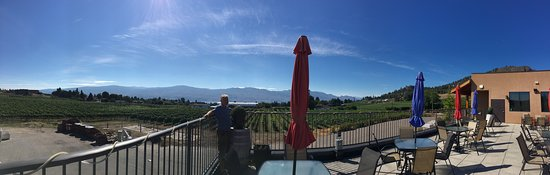 Volcanic Hills Estate Winery: View from Volcanic Hills Winery