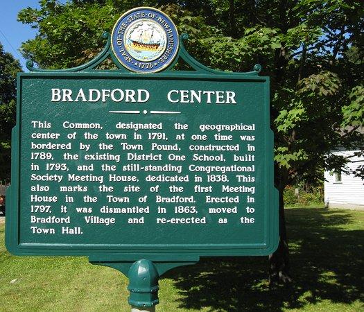 Bradford Center history information
