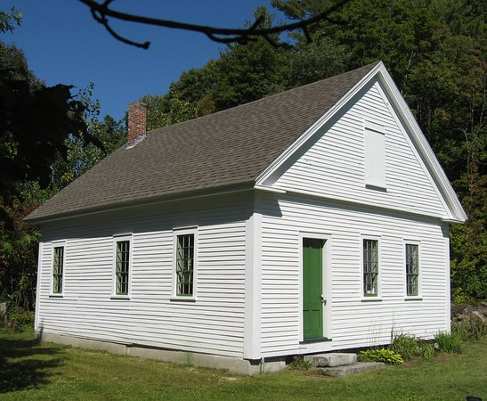 Bradford, Nueva Hampshire: Old schoolhouse