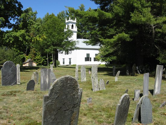 Bradford, Nueva Hampshire: Meeting House and old cemetery