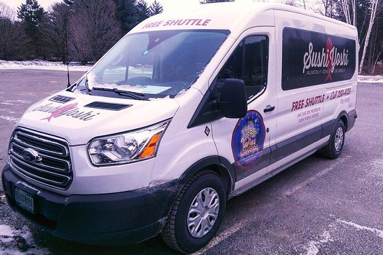 Sushi Yoshi: Need a ride? Call us about our shuttle bus!