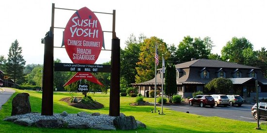 Sushi Yoshi: Eat in, Roll out!