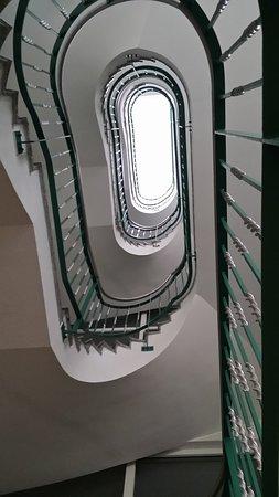 Tanne, ألمانيا: Treppenhaus im Hotel