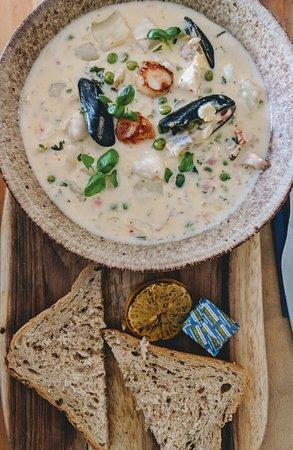 Malpas, UK: Local Fish Stew