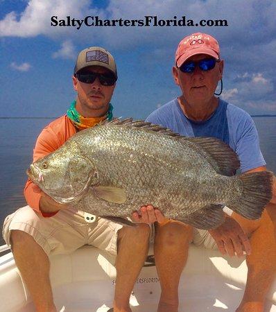 St. George Island, Floride : SaltyChartersFlorida.com St.George Island Apalachicola Tripletail