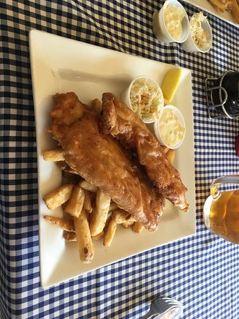 Chester, Kanada: Fish and chips