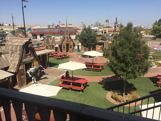 Kettleman City, Californie : picnic area