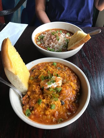 J. Gumbo's: Jean Lafitte and White Chili
