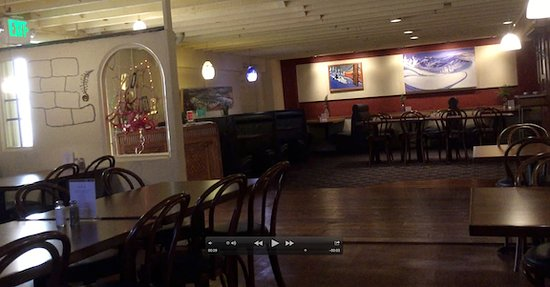 The Tin Brick: Dining Room