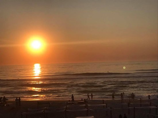 Sao Pedro de Moel, Portugal: Por do Sol incrível em cima do MAR