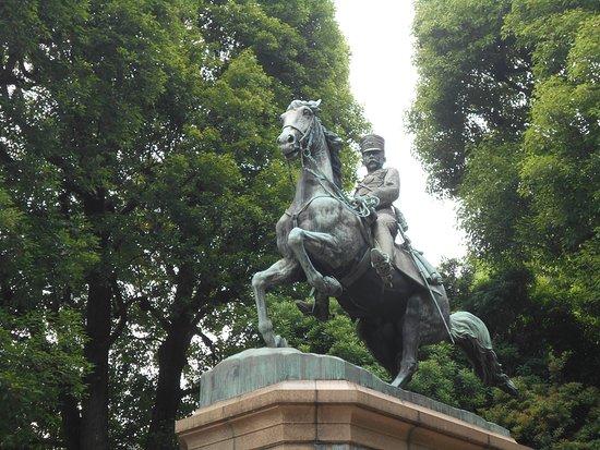 Statue of Prince Kitashirakawa Yoshihisa