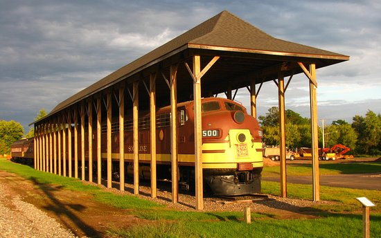 Rusk County Visitors Center & Rail Display