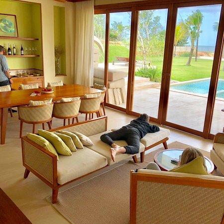 Five star resort on a three star island...