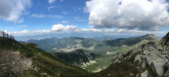 Jasna Nizke Tatry : View from the top