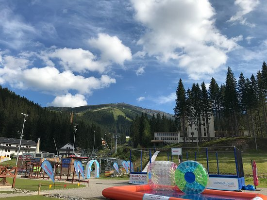 Jasna Nizke Tatry : View to the top from the base station