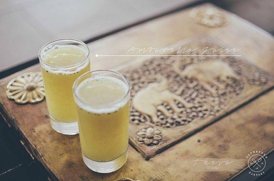 Hantana, سريلانكا: welcome drinks