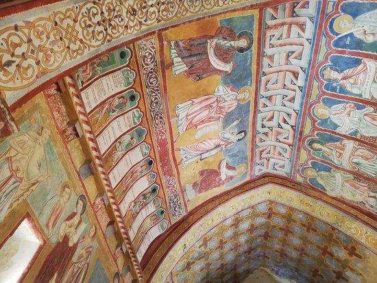Bominaco: Volta dell'oratorio di san Pellegrino