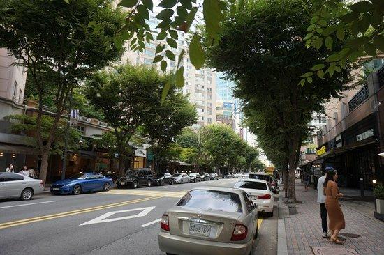 Jeongja-dong Cafe Street