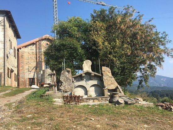 Bosco di Corniglio, อิตาลี: Essicatoio per le castagne