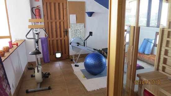 Cartajima, Spanien: Rowing machine awaits you
