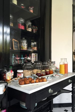 Taussat, Francja: petit déjeuner