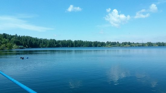 Spas-Kamenka, Russie: Вид с понтона