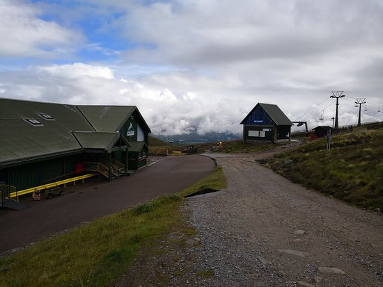 Aviemore, UK: The Funicular station