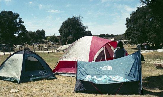 Canada del Sol: Campamento