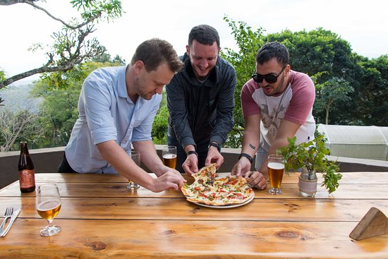Botha's Hill, South Africa: Pizza lovers