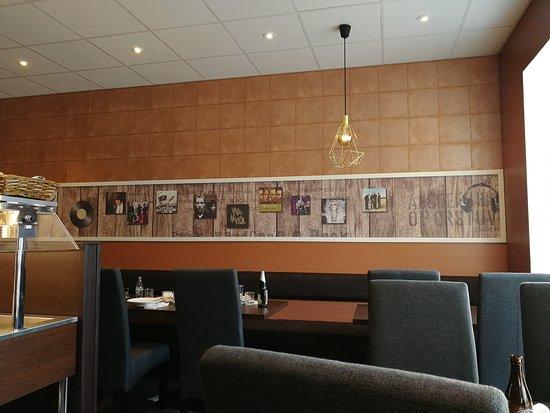 Inerior of restaurant