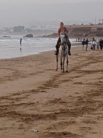 Foto de 2 horas Sunset Horse ride taghazout